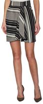 Marissa Webb Tawni Jacquard Draped Skirt