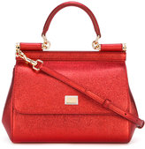 Dolce & Gabbana mini Sicily tote - women - Cotton/Leather - One Size