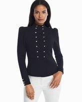 White House Black Market Double Breasted Sweater Jacket