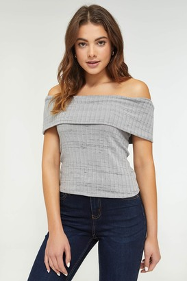 Ardene Eco-Conscious Recycled Fabric Off Shoulder Top