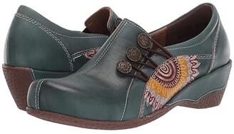 L'Artiste by Spring Step Agacia (Black) Women's Shoes