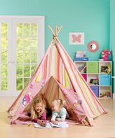 Pink Stripe Fairy Tent