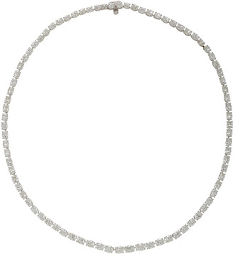 Gioia Bini Platinum And Diamond Necklace