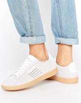 Le Coq Sportif Gray Suede Arthur Ashe Sneakers