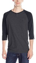 Quiksilver Men's Baysic Henley Shirt