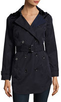 MICHAEL Michael Kors Plus Hooded Trench Coat
