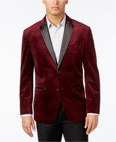 Alfani Men's Classic-Fit Textured Velvet Blazer, Only at Macy's