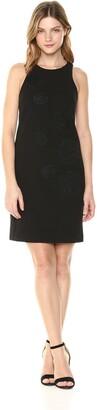 Betsey Johnson Women's Sleeveless Scuba Crepe Dress