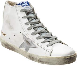 Golden Goose Francy Leather High-Top Sneaker
