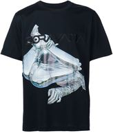 Juun.J x Hajime Sorayama print T-shirt - men - Cotton/Acetate - 46