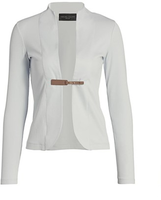 Fabiana Filippi Two-In-One Belted Knit Jacket