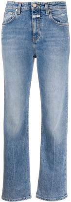 Closed Baylin distressed straight-leg jeans