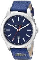 Lacoste Men's 2010779 Auckland Analog Display Japanese Quartz Blue Watch