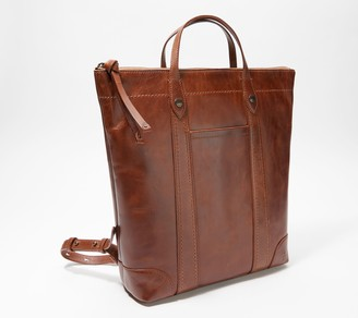 Frye Leather Melissa Backpack with Top Handle