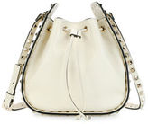 Valentino Rockstud Small Drawstring Crossbody Bag