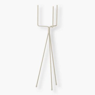 ferm LIVING Light Grey Plant Stand Low