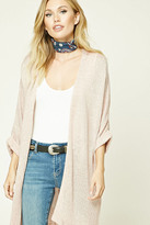 Forever 21 FOREVER 21+ Contemporary Open-Knit Cardigan