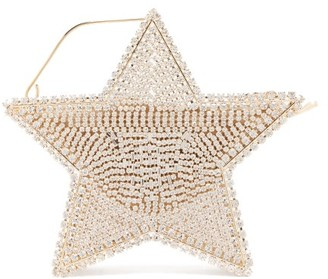 Rosantica Cielo Crystal-embellished Star Bag - Womens - Gold