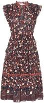 Ulla Johnson Prunella floral cotton midi dress