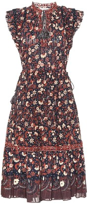 Ulla Johnson Prunella floral cotton midi dress