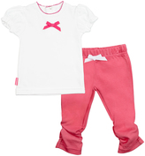 Kushies Fuchsia I Love Spring Tee & Leggings - Infant