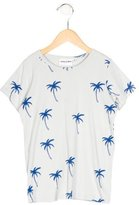Mini Rodini Boys' Palm Tree Print Short Sleeve Shirt