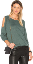 Nation Ltd. Taylor Cold Shoulder Top