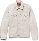 Junya Watanabe Levi's Slim-Fit Striped Loopback Cotton Jacket