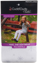 Cuddl Duds Girls 4-16 Snowflake Sweater Tights