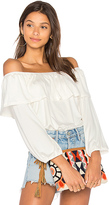 Rachel Pally Diandre Top in White