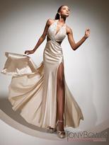 Mon Cheri Paris Prom by Mon Cheri - 113732 Long Dress In Champagne