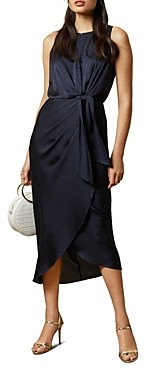 Ted Baker Pohshan Keyhole Wrap Midi Dress