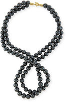 Stella McCartney Swarovski® Crystal-Pearl Two-Strand Necklace