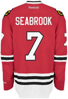 Reebok Men's Brent Seabrook Chicago Blackhawks Premier Jersey
