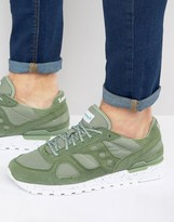 Saucony Shadow Original Ripstop Trainers In Green S70300-4