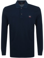 Paul & Shark Paul And Shark Logo Polo T Shirt Navy