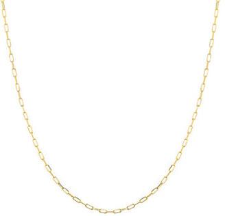Elemental 14K Gold Modern Chain Necklace