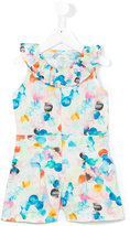 No Added Sugar Playful playsuit - kids - Cotton/Polyester - 4 yrs
