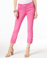INC International Concepts Curvy-Fit Cropped Jeans, Created for Macy's