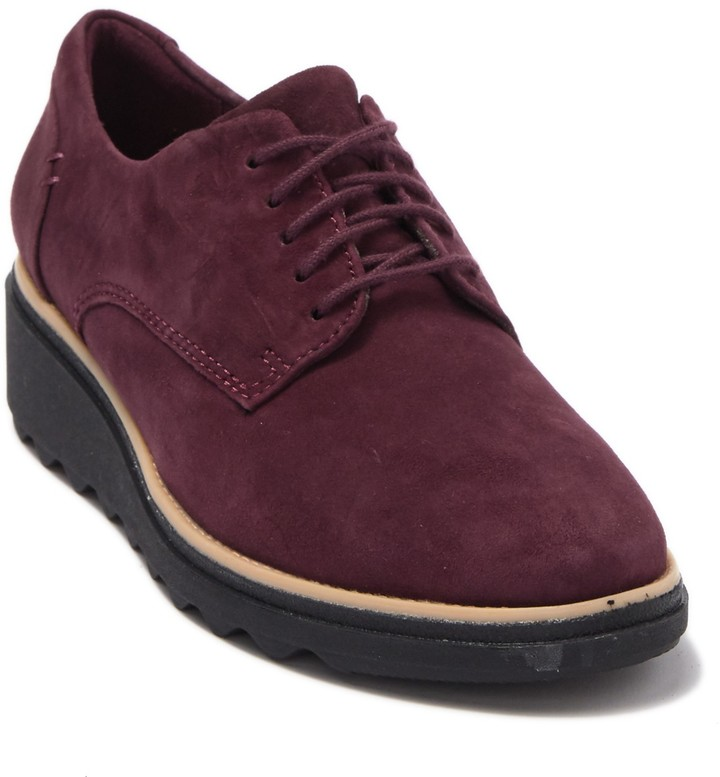 Clarks Wedge Suede - ShopStyle