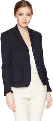 Rebecca Taylor Women's Spring Ruffle Jacket