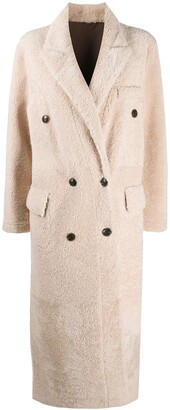 Simonetta Ravizza Double-Breasted Fitted Coat