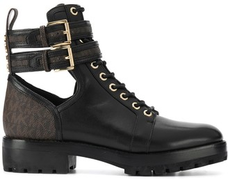 MICHAEL Michael Kors Ankle Strap Boots