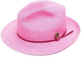 Catarzi Woven Fedora Hat