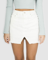 Toby Heart Ginger Notch Front Skirt