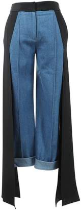 Hellessy \N Blue Cotton Trousers