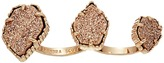 Kendra Scott Naomi Two Finger Ring Adjustable