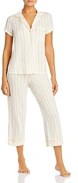 Eberjey Summer Stripes Short-Sleeve Pj Set - 100% Exclusive