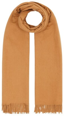 Burberry Cashmere-Wool Scarf