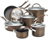 Circulon Symmetry 11-pc. Hard-Anodized Cookware Set